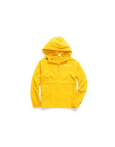 Champion Mens Packable Jacket Yellow S