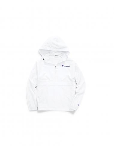 Champion Mens Packable Jacket White S